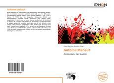 Antoine Mahaut kitap kapağı