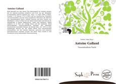Couverture de Antoine Galland