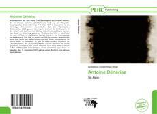 Buchcover von Antoine Dénériaz