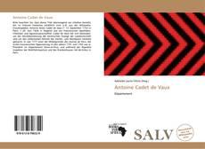 Bookcover of Antoine Cadet de Vaux