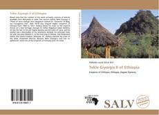 Tekle Giyorgis II of Ethiopia kitap kapağı