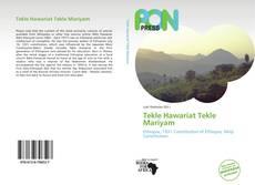 Capa do livro de Tekle Hawariat Tekle Mariyam