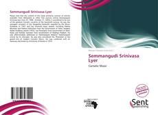 Обложка Semmangudi Srinivasa Lyer