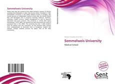 Semmelweis University kitap kapağı