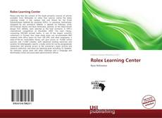 Portada del libro de Rolex Learning Center