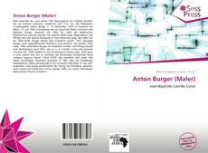 Buchcover von Anton Burger (Maler)
