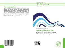 Navarretia Leptalea kitap kapağı