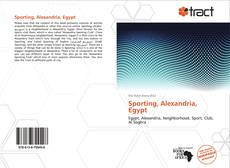 Bookcover of Sporting, Alexandria, Egypt