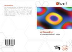 Bookcover of Anton Adner