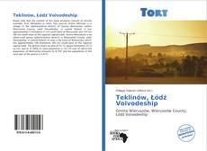 Teklinów, Łódź Voivodeship kitap kapağı