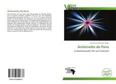 Обложка Antoinette de Pons