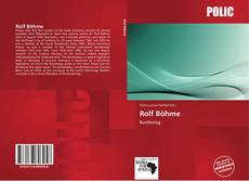 Bookcover of Rolf Böhme
