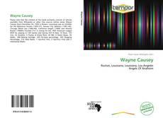 Buchcover von Wayne Causey