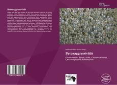 Bookcover of Betonaggressivität