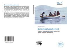 Buchcover von Betonbootsbaubewerb