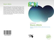 Wayne, Alberta的封面
