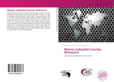 Bookcover of Wayne, Lafayette County, Wisconsin