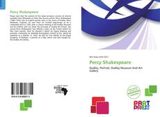 Percy Shakespeare kitap kapağı