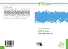 Обложка Rolf Brahde