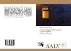 Capa do livro de Anton Aloys (Hohenzollern-Sigmaringen)
