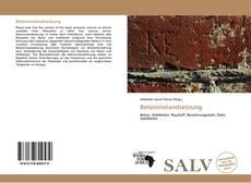 Bookcover of Betoninstandsetzung