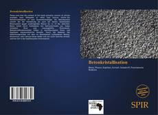 Bookcover of Betonkristallisation