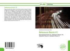 Buchcover von Delaware Route 41