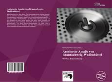 Bookcover of Antoinette Amalie von Braunschweig-Wolfenbüttel