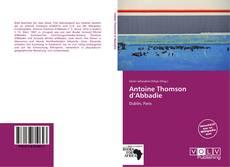 Capa do livro de Antoine Thomson d'Abbadie