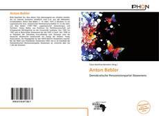 Buchcover von Anton Bebler