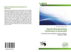 Bookcover of Sports Broadcasting Contracts in Australia