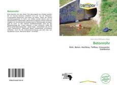 Buchcover von Betonrohr