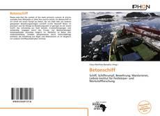 Portada del libro de Betonschiff