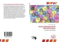 Portada del libro de Anton Alexejewitsch Woltschenkow