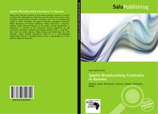 Couverture de Sports Broadcasting Contracts in Kosovo