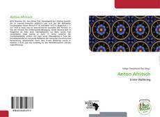 Capa do livro de Anton Afritsch