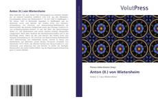 Обложка Anton (II.) von Wietersheim