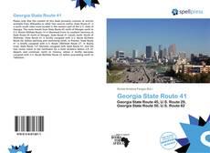 Borítókép a  Georgia State Route 41 - hoz