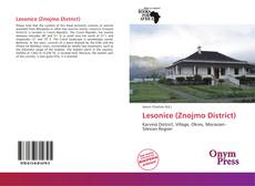 Bookcover of Lesonice (Znojmo District)