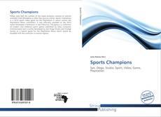 Capa do livro de Sports Champions