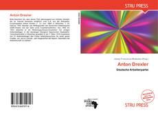Buchcover von Anton Drexler