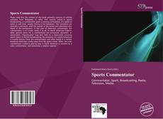 Couverture de Sports Commentator
