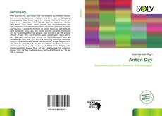 Bookcover of Anton Dey