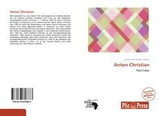 Portada del libro de Anton Christian