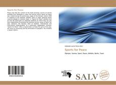 Bookcover of Sports for Peace