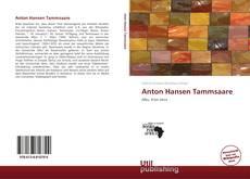 Bookcover of Anton Hansen Tammsaare