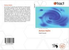 Couverture de Anton Halm