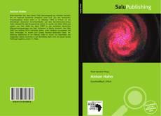 Bookcover of Anton Hahn