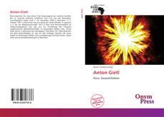 Buchcover von Anton Gietl