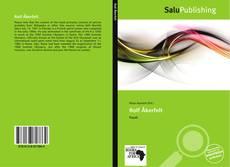Portada del libro de Rolf Åkerfelt